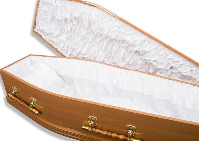 the majestic oak casket